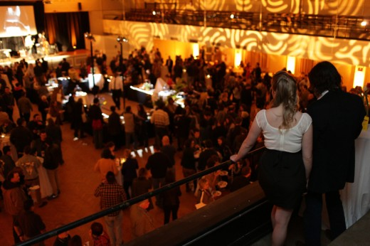 Full Frame Opening Night soiree at the Armory