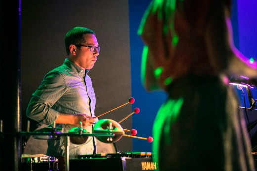 New Music Raleigh co-founder and percussionist, Shawn Galvin