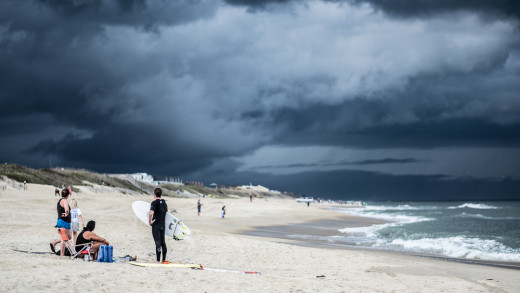 Approaching storm, Kitty Hawk, NC